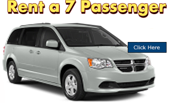 Minivan 7 passenger Rentals toronto mississauga